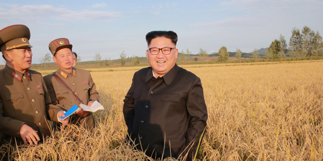 North Korean leader Kim Jong Un visits a Farm No. 1116 of KPA Unit 810 in this September 29, 2017 photo released by North Korea's Korean Central News Agency (KCNA) in Pyongyang. KCNA/via REUTERS ATTENTION EDITORS - THIS IMAGE WAS PROVIDED BY A THIRD PARTY. REUTERS IS UNABLE TO INDEPENDENTLY VERIFY THIS IMAGE. NO THIRD PARTY SALES. SOUTH KOREA OUT.     TPX IMAGES OF THE DAY