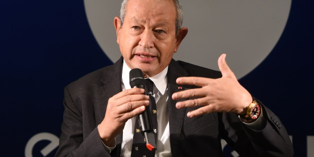 Euronews' new majority shareholder Egyptian Naguib Sawiris speaks during a press conference on October 15, 2015, before the official inauguration of the new Euronews Worlwide Headquarter in the 'Confluence' district in Lyon, southeastern France. AFP PHOTO/PHILIPPE DESMAZES        (Photo credit should read PHILIPPE DESMAZES/AFP/Getty Images)