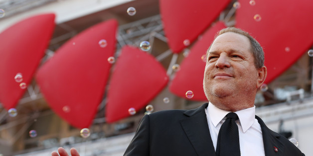 """Producer Harvey Weinstein poses during a red carpet for the movie """"Philomena"""", directed by Stephen Frears, during the 70th Venice Film Festival in Venice August 31, 2013. The movie debuts at the festival. REUTERS/Alessandro Bianchi (ITALY - Tags: ENTERTAINMENT)"""