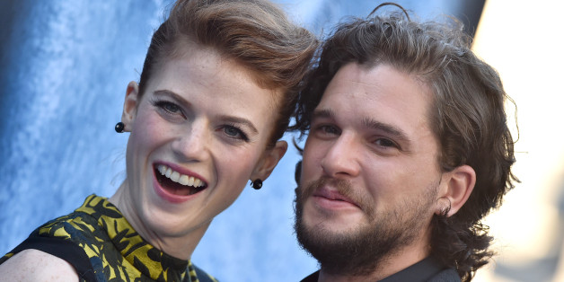 LOS ANGELES, CA - JULY 12:  Actors Rose Leslie and Kit Harington arrive at the premiere of HBO's 'Game Of Thrones' Season 7 at Walt Disney Concert Hall on July 12, 2017 in Los Angeles, California.  (Photo by Axelle/Bauer-Griffin/FilmMagic)
