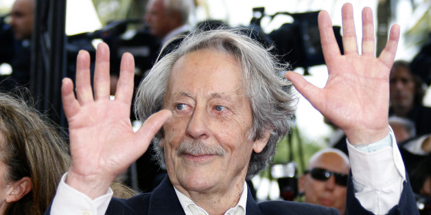 French actor Jean Rochefort arrives for the screening of French director Nicole Garcia's in-competition film 'Selon Charlie' at the 59th Cannes Film Festival May 20, 2006.  REUTERS/Eric Gaillard