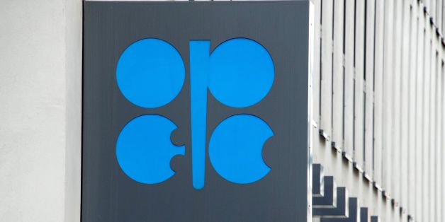 The Organization of the Petroleum Exporting Countries (OPEC) logo is pictured at OPEC's headquarters in Vienna, on September 22, 2017. / AFP PHOTO / JOE KLAMAR        (Photo credit should read JOE KLAMAR/AFP/Getty Images)
