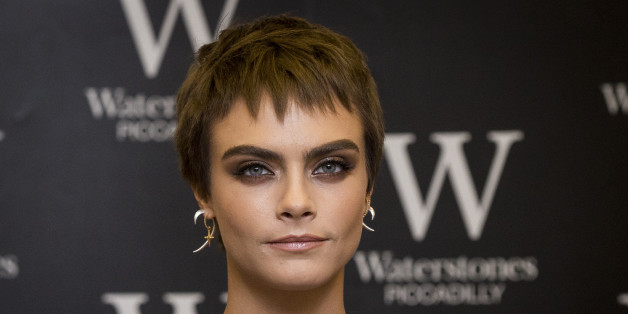 LONDON, ENGLAND - OCTOBER 04:  Cara Delevingne attends the signing of her debut Young Adult novel 'Mirror, Mirror' at Waterstones Piccadilly on October 4, 2017 in London, England.  (Photo by Tristan Fewings/Getty Images)