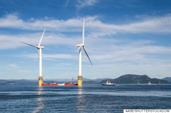 floating wind farm
