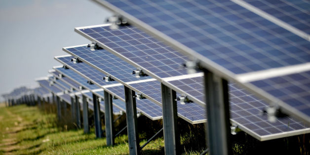 "Embargoed to 0800 Wednesday October 4 File photo dated 04/09/13 of solar panels at a solar farm. The world is witnessing ""the birth of a new era"" in solar power, with the technology growing faster than any other fuel in 2016, the International Energy Agency said."