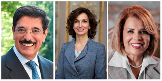 Hamad Bin Abdulaziz al-Kawari, Audrey Azoulay Présidence et Moushira Khattab