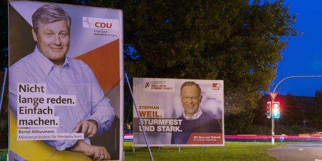 Kopf-an-Kopf-Rennen zwischen CDU und SPD