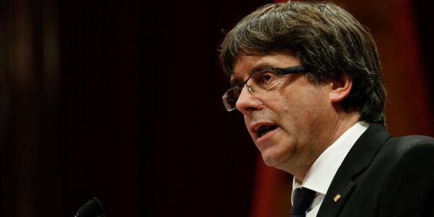 Kataloniens Regierungschef vertagt die Unabhängigkeit - und attackiert Spaniens Zentralregierung