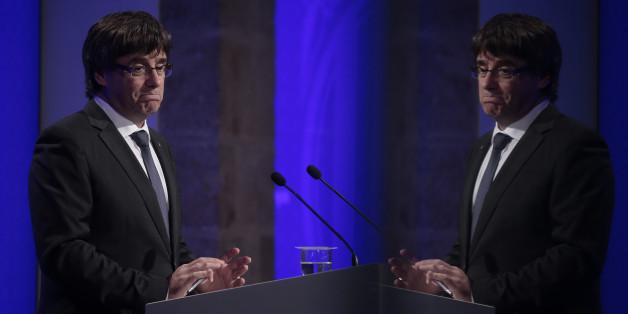 Die Medien sind sich nach der Rede des katalanischen Regierungschefs uneins - sie sehen aber einen klaren Sieger