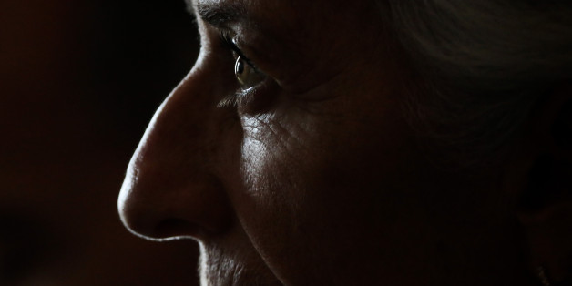 Christine Lagarde, managing director of the International Monetary Fund (IMF), looks on during the Bank of England's 'Independence - 20 Years On' conference at Fishmongers' Hall in the City of London, U.K., on Friday, Sept. 29, 2017. The conference marks two decades of independence from the government. Photographer: Simon Dawson/Bloomberg via Getty Images
