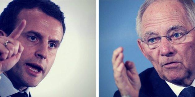 Mit gegenteiligen Konzepten wollen Emmanuel Macron und Wolfgang Schäuble die EU revolutionieren - das Duell kennt nur einen Sieger