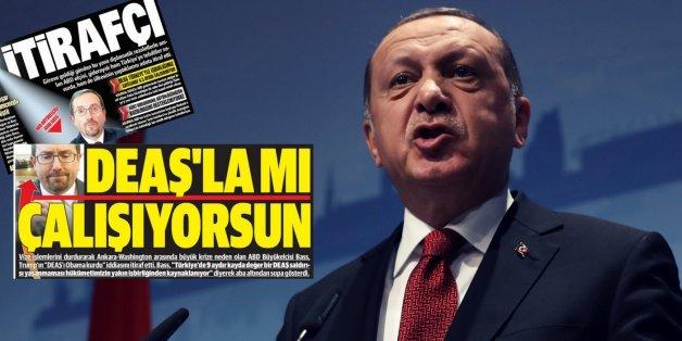 """""""Die USA drohen uns mit dem IS"""": Türkische Medien werfen dem US-Botschafter eine Verschwörung vor"""