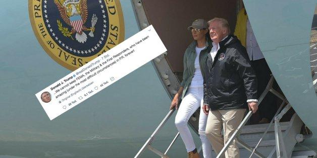 Zuerst hat Trump die Sturm-Opfer auf Puerto Rico beleidigt (Archivbild)