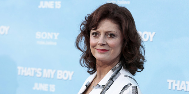 "Cast member Susan Sarandon arrives for the premiere of ""That's My Boy"" in Los Angeles, California June 4, 2012. REUTERS/Bret Hartman (UNITED STATES - Tags: ENTERTAINMENT)"