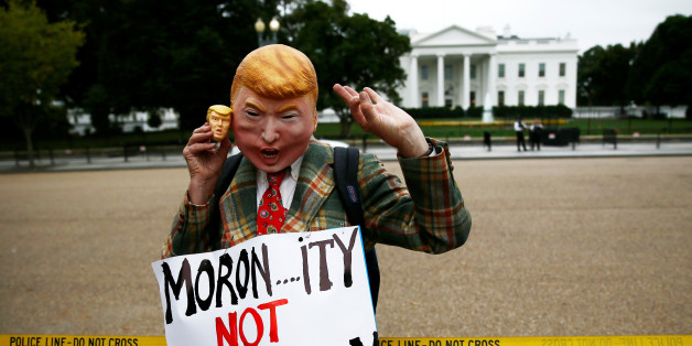 "Protest gegen Donald Trumps ""Idiotie"" in der US-Außenpolitik"