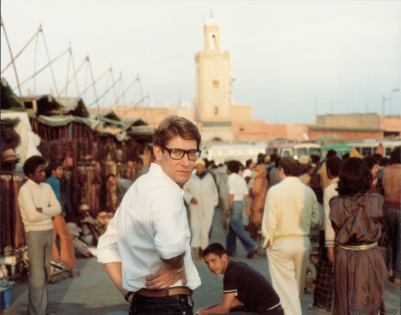 yves saint laurent place djemaa el fna