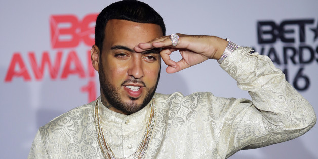 Rapper French Montana poses backstage at the 2016 BET Awards in Los Angeles, California U.S. June 26, 2016.  REUTERS/David McNew