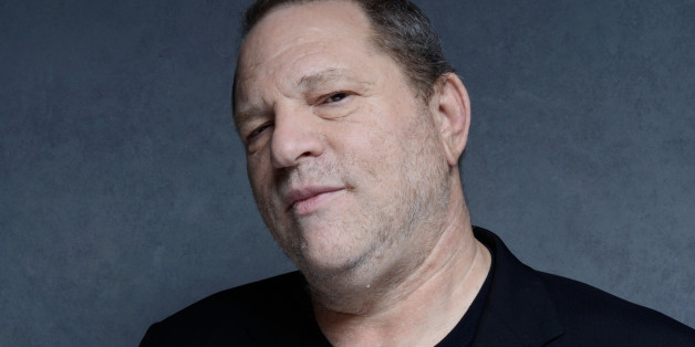 TORONTO, ON - SEPTEMBER 09:  Producer Harvey Weinstein of '12.12.12' poses at the Guess Portrait Studio during 2013 Toronto International Film Festival on September 9, 2013 in Toronto, Canada.  (Photo by Jeff Vespa/WireImage)