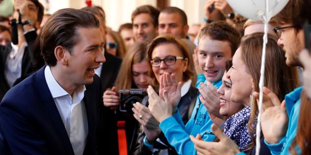 Die ÖVP mit Spitzenkandidat Sebastian Kurz liegt in den Umfragen deutlich vorne