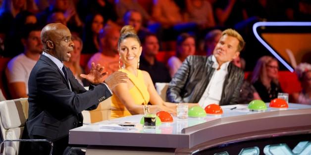 """""""Ich schlucke gut runter"""": Millionärsgattin blamiert sich beim """"Supertalent"""" vor Publikum."""