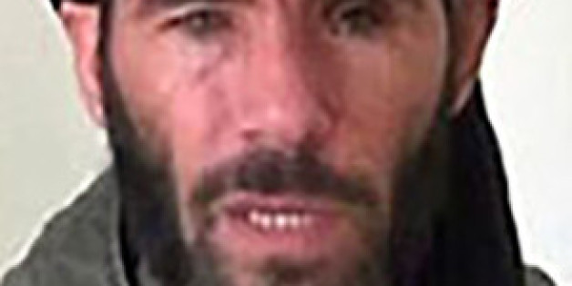 Algerian militant Mokhtar Belmokhtar is seen in an undated picture from the U.S. Department of Justice.  The U.S. military confirmed on Sunday that Belmokhtar was the target of a U.S. air strike in Libya but did not say if he had been killed.  Libya's recognized government said earlier on Sunday that Belmokhtar, blamed for masterminding an Algerian gas field attack and running smuggling routes across North Africa, had been killed in a U.S. air strike inside Libya.   REUTERS/US Department of Just