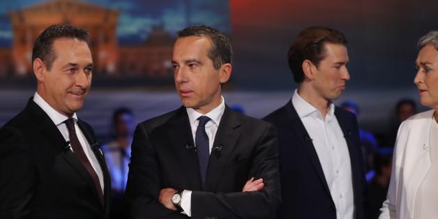 Wahl in Österreich: Erste Prognose sieht ÖVP nur knapp vor der FPÖ (Newsblog)