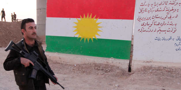 A Kurdish Peshmerga fighter is seen in the Southwest of Kirkuk, Iraq October 13, 2017. REUTERS/Ako Rasheed