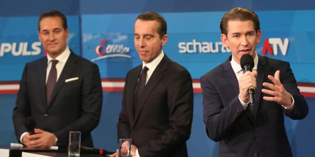 Rechts steht ihm gut: ÖVP-Chef Sebastian Kurz