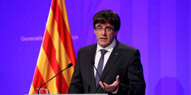 Spanish PM Rajoy urges Catalan leader Puigdemont to 'act sensibly'