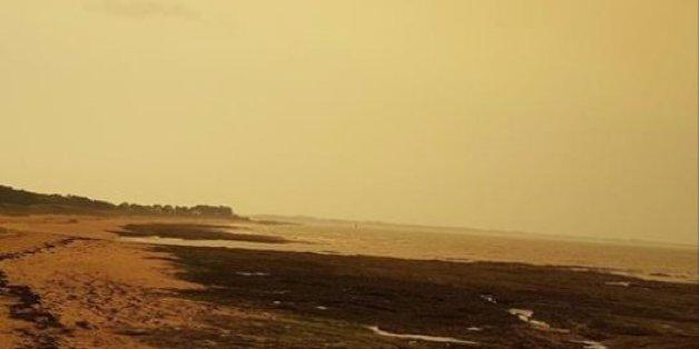 Quand le sable du Sahara fait changer de couleur le ciel de la Bretagne