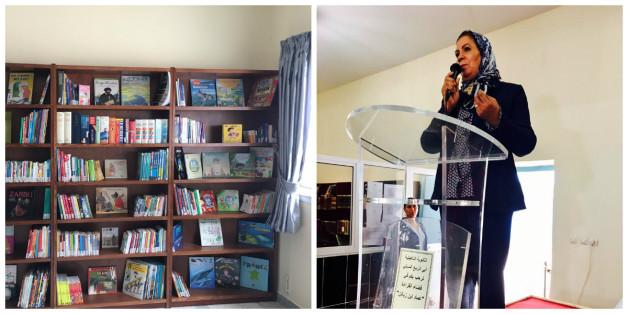 Dans la préfecture M'diq-Fnideq, Latifa Ibn Ziaten inaugure quatre bibliothèques scolaires