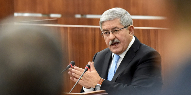 Newly appointed Algerian Prime Minister Ahmed Ouyahia presents the government's programme to the parliament on September 17, 2017, in Algiers. / AFP PHOTO / RYAD KRAMDI        (Photo credit should read RYAD KRAMDI/AFP/Getty Images)