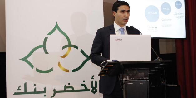 """Fouad Harraz, directeur général de """"Al Akhdar Bank"""", nouvelle institution financière créée."""