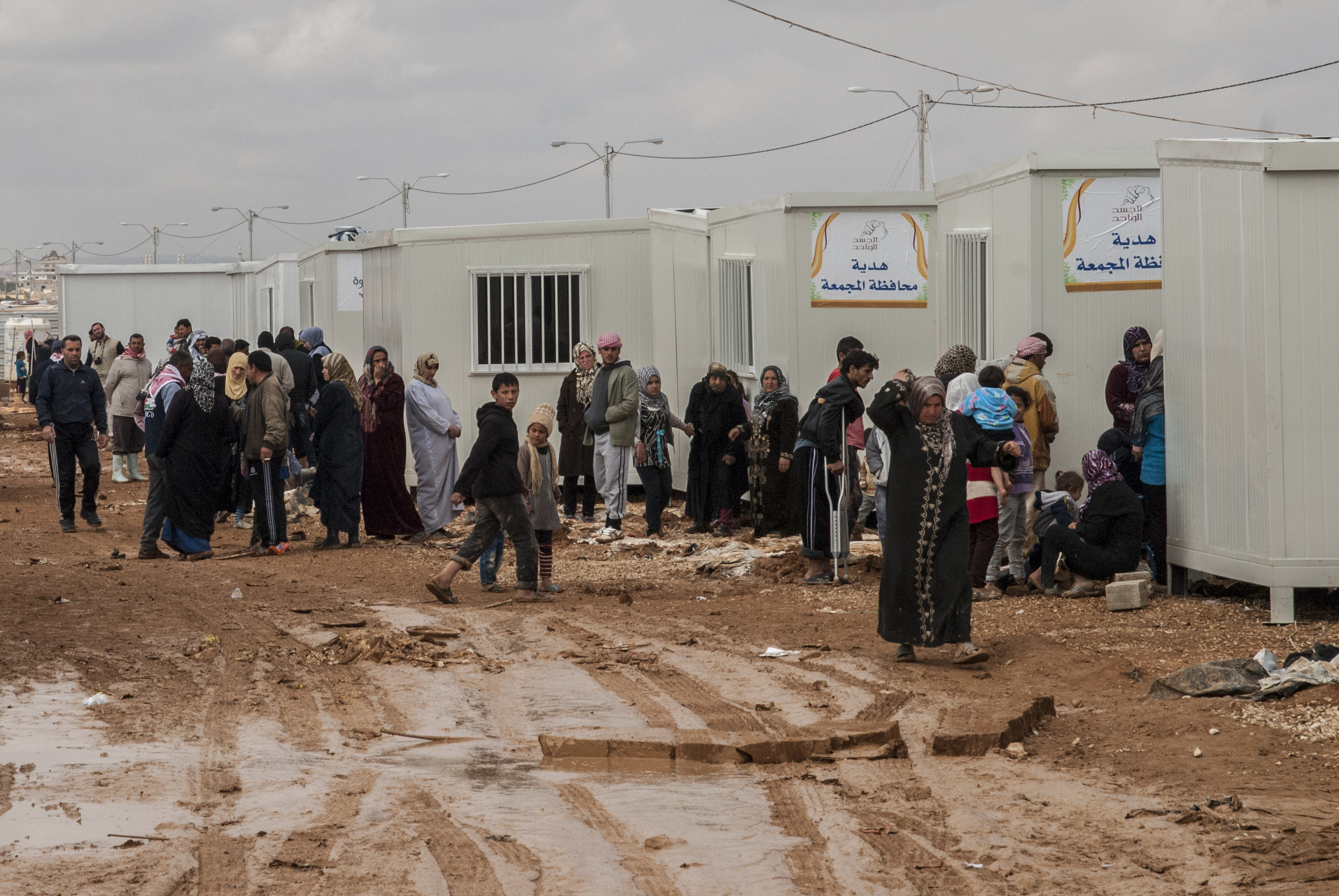 camp zaatari refugees