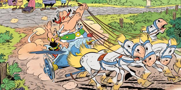 """""""Asterix in Italien"""", am Donnerstag erschienen, ist ein ganz großer Wurf."""