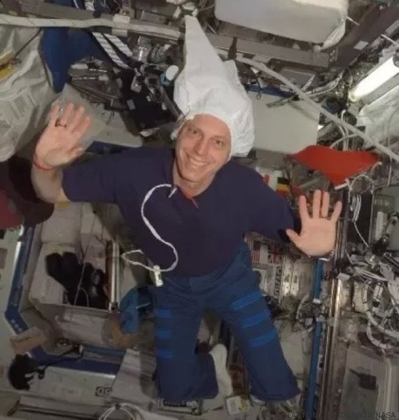 astronaute iss