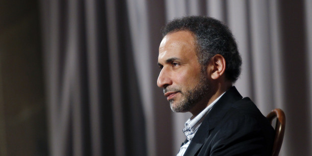 Author Tariq Ramadan is seen during an interview with Reuters in New York April 8, 2010. Ramadan, a Swiss citizen of Egyptian origin who was born in Switzerland, has written extensively on Western Muslims and on Islam. He is president of the thinktank European Muslim Network in Brussels and teaches at Britain's Oxford University. REUTERS/Mike Segar (UNITED STATES - Tags: MEDIA POLITICS RELIGION SOCIETY)