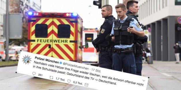 Die Münchner Polizei hat viel zur Messerattacke getwittert - aber eine Nachricht ging viral