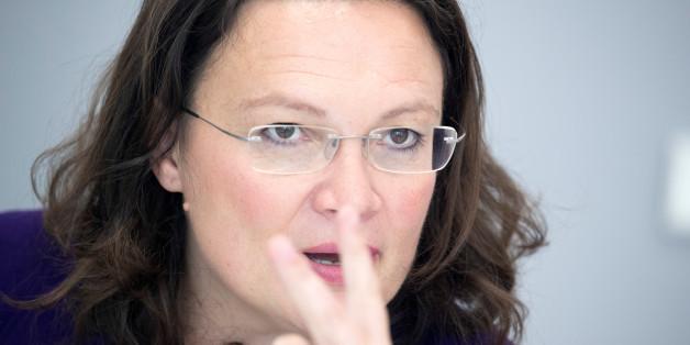SPD-Ministerin Nahles schreibt AfD-Politiker Glaser einen Brief - und verlangt eine Auskunft