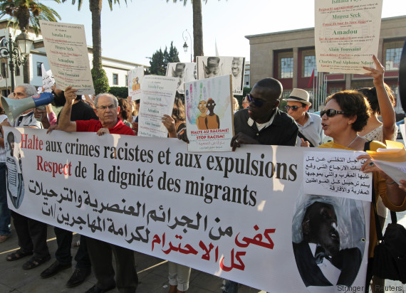 migrants rabat