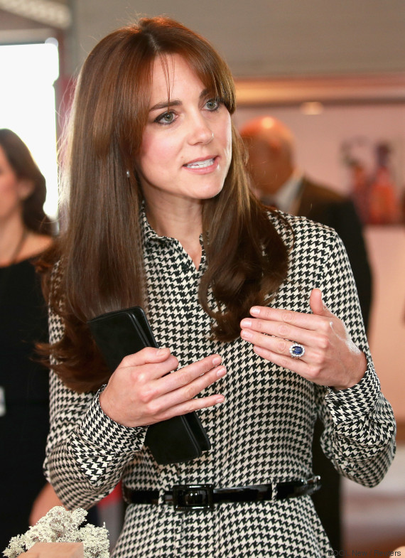 kate middleton hand