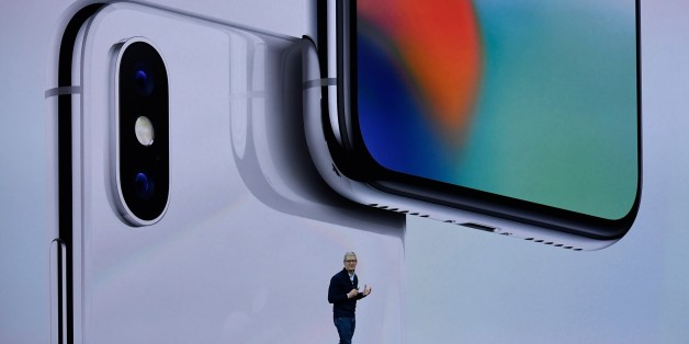 CUPERTINO, CA - SEPTEMBER 12: Apple CEO Tim Cook makes speech during the Apple launch event on September 12, 2017 in Cupertino,California. Apple Inc. unveiled its new iPhone 8, iPhone X, iPhone 8 Plus, and the Apple Watch Series 3 at the new Apple Park campus. (Photo by Qi Heng/VCG via Getty Images)