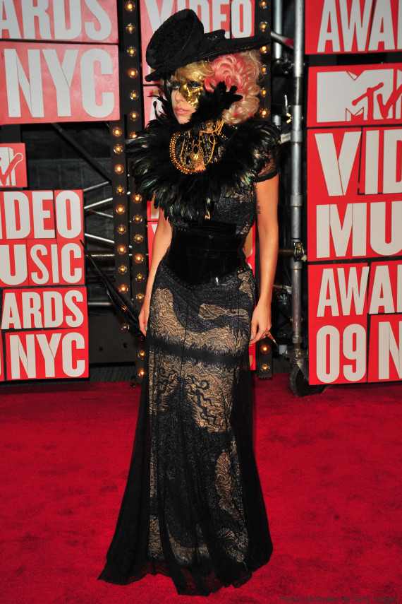 lady gaga mtv video music awards 2009