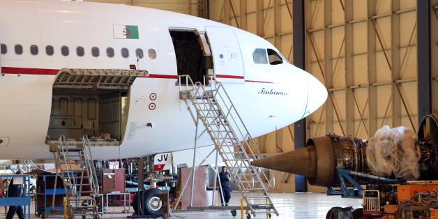 The room service for maintenance planes of Air Algeria in Algiers Airport Houari on 24 April 2016 The transport network is central to realising Algeria's economic growth potential.(Photo by Billal Bensalem/NurPhoto via Getty Images)