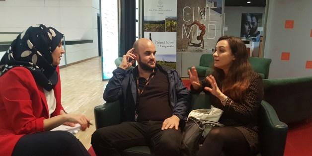 Damien Ounouri et Adila Bendimred interviewés par Soumia Abbas