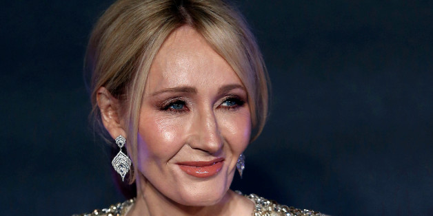 "Writer J.K. Rowling poses as she arrives for the European premiere of the film ""Fantastic Beasts and Where to Find Them"" at Cineworld Imax, Leicester Square in London, Britain November 15, 2016. REUTERS/Neil Hall"