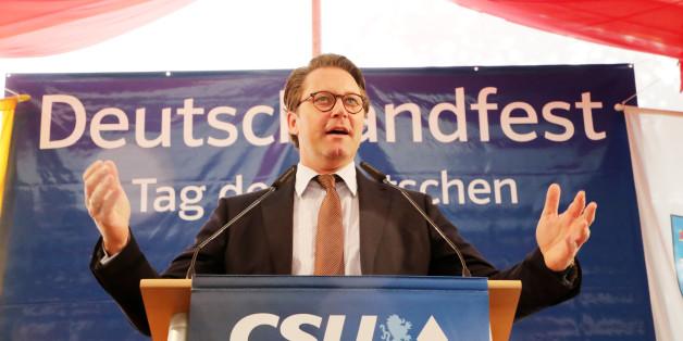 CSU-Mann Scheuer spricht über Jamaika - und widerspricht sich in nur 3 Sätzen selbst