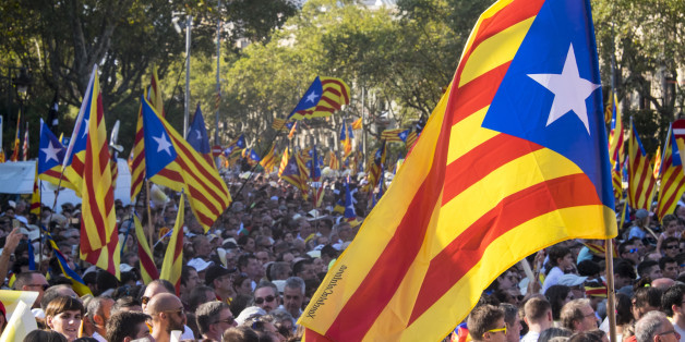 The National Day of Catalonia or La Diada Nacional de Catalunya is celebrated every September 11th, a historic date in the Catalan calendar. The day commemorates the 14 month Siege of Barcelona, and when on the 11th September 1714, Catalan troops were forced to surrender to the Castilian forces of France and Philip V of Spain. It was unfortunately all pretty much downhill from there for the next 250 years. All institutions of Catalonia were destroyed and they became part of the Spanish kingdom.  Many Catalans have been battling this repression ever since. Most recently from the Spanish dictator, Francisco Franco. The National Day of Catalonia was reinstated after 94 years in 1980, five years after Franco's death in 1975. Catalonia today is at least an autonomous community. Though this is still far from acceptable for many.