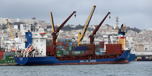 View of Port of Algiers on April 24, 2016, the country's principal maritime facility for general cargo and passengers  The transport network is central to realising Algeria's economic growth potential.(Photo by Billal Bensalem/NurPhoto via Getty Images)