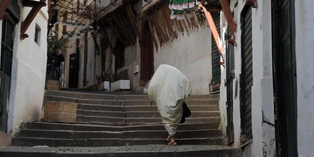 La Casbah d'Alger, photo d'archive